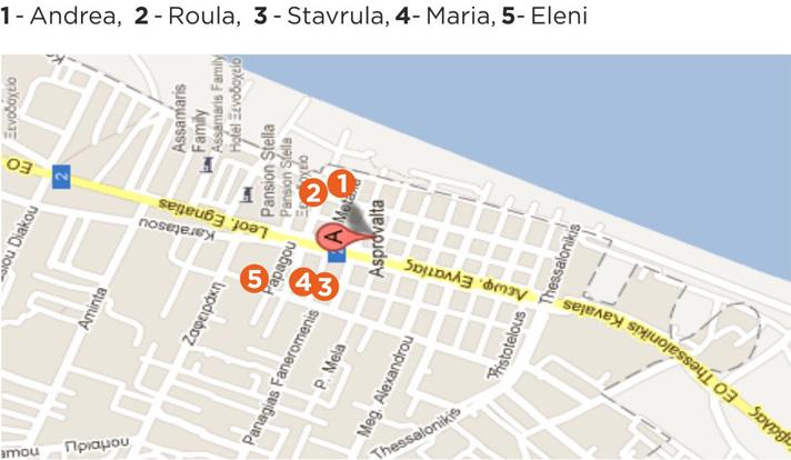 Asprovalta Mapa Skouras Agencija